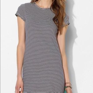 Urban Outfitters striped t shirt dress
